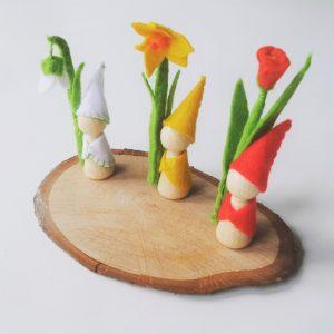bloemen kabouters